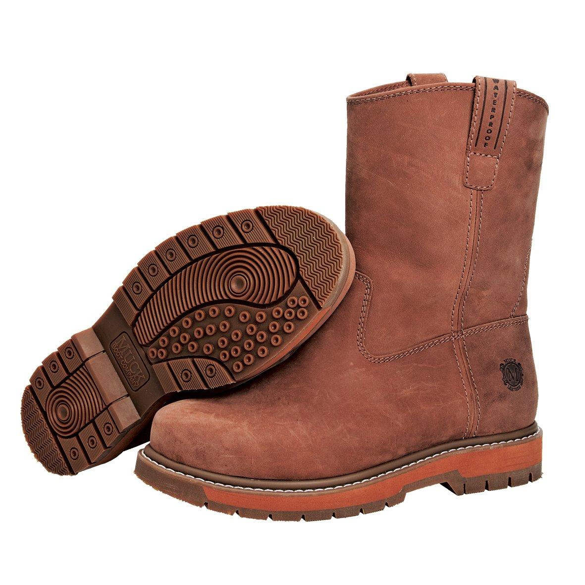 Muck Boot メンズ B004AVW8FK 7.5 D(M) US|ブラウン ブラウン 7.5 D(M) US