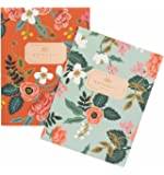 Birch Floral Notebooks by Rifle Paper Co. -- Set of 2