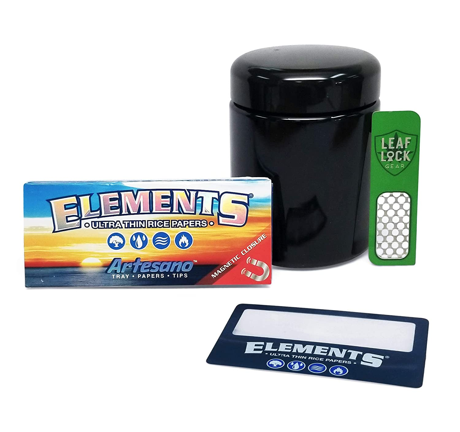 Amazon.com: Elements King Size Artesano Rolling Papers, Lupa ...