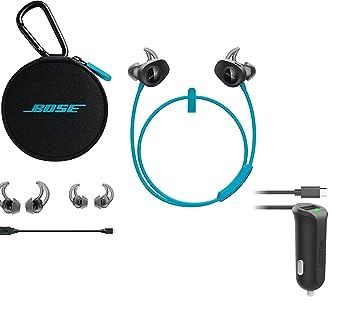 Bose SoundSport Auriculares In-Ear inalámbricos & Cargador de Coche – Bundle