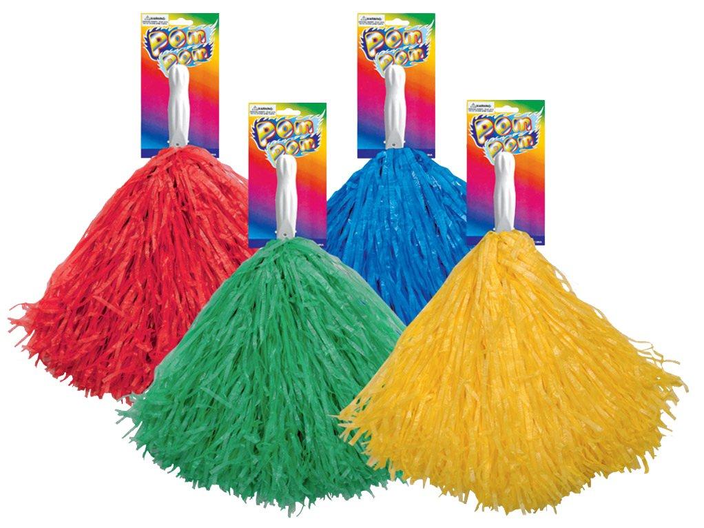 Azul o Amarillo. el carnaval Pompon de Animadora Rojo Elige tu Color Verde