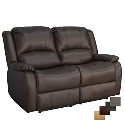 Amazon Com Charles Ashton Home Collection 58 Double Recliner
