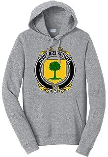 Medium Tenacitee Boys Youth Irish House Heraldry Barrett T-Shirt Heather Grey