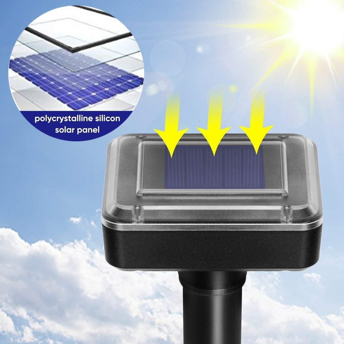 Amazon.com: GYM HEROES - Lámpara solar para exteriores ...