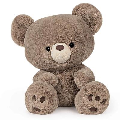 "GUND Kai Teddy Bear Plush Stuffed Animal, Taupe Brown, 12"": Toys & Games"