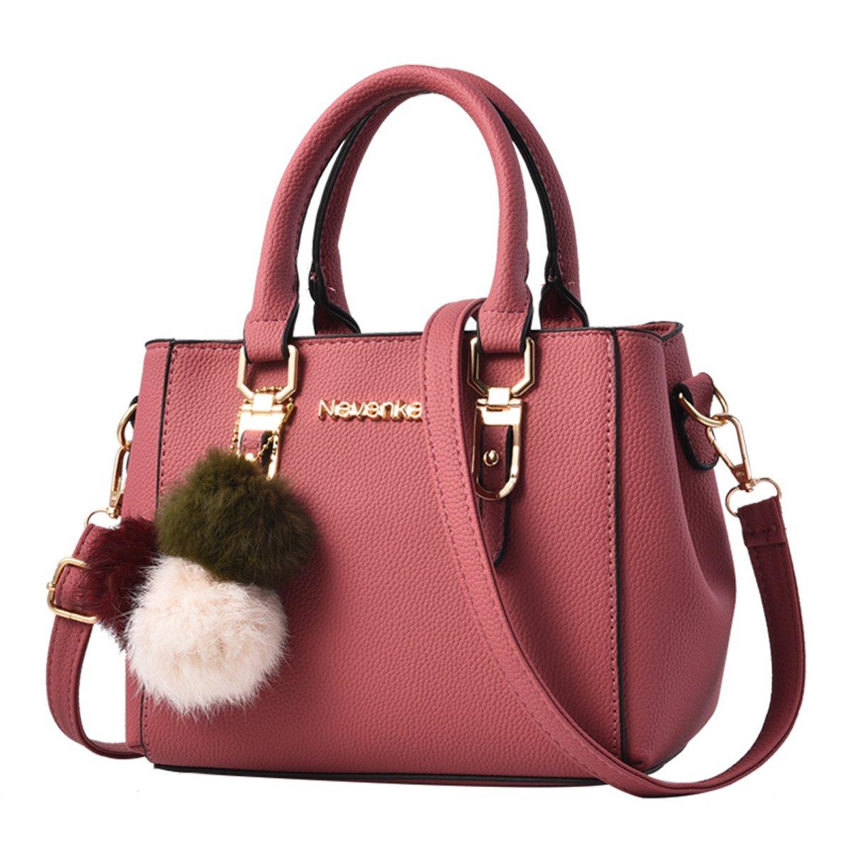 cb74a9ef90ee52 Details about Nevenka Women Bags Handbag Shoulder Bags PU Leather Zipper  Bags Casual Purse Cro