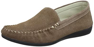Softinos Womens Daniela Casual Loafers DANIELA TAUPE