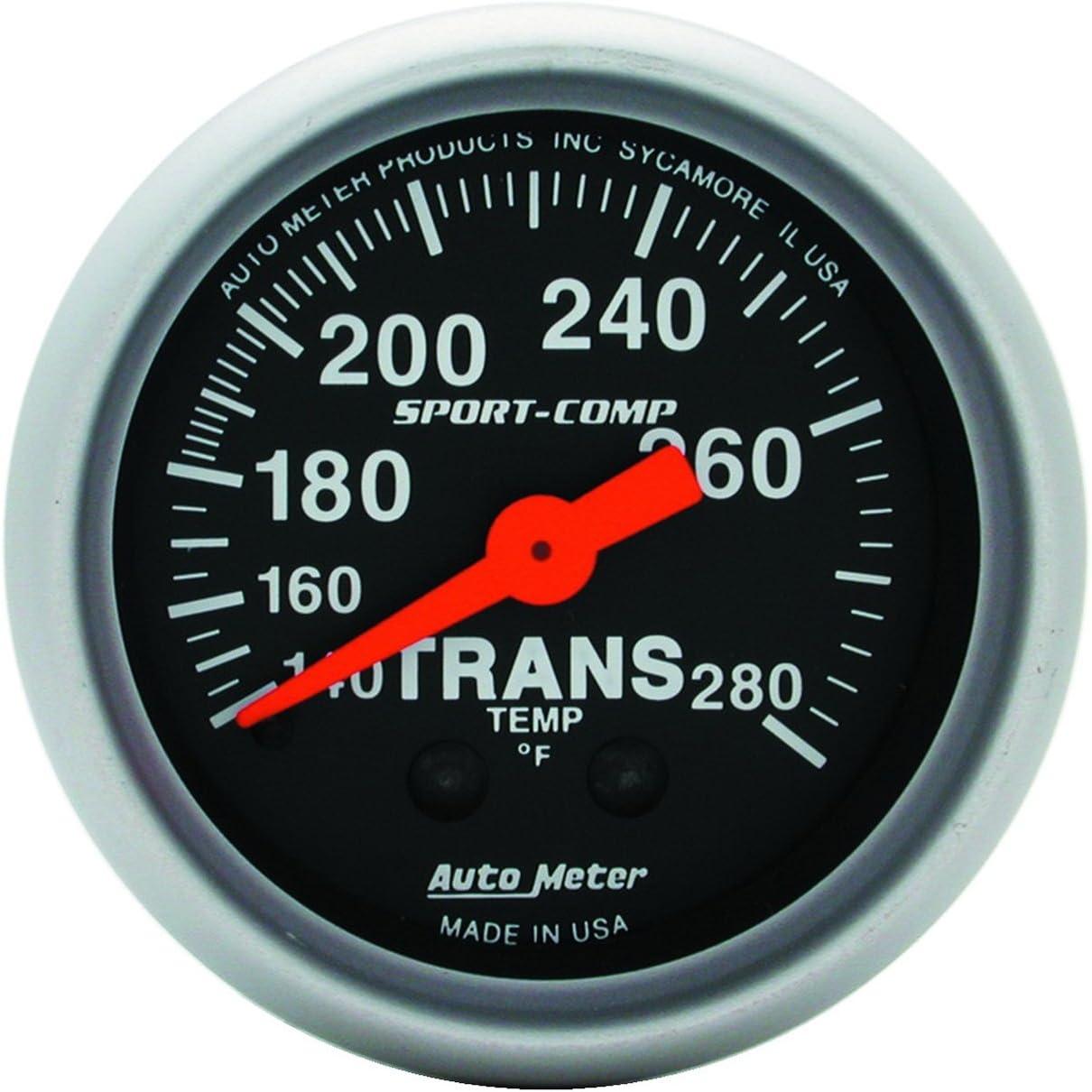 Auto Meter 2615 Z-Series 2-1//16 Mechanical Transmission Temperature Gauge