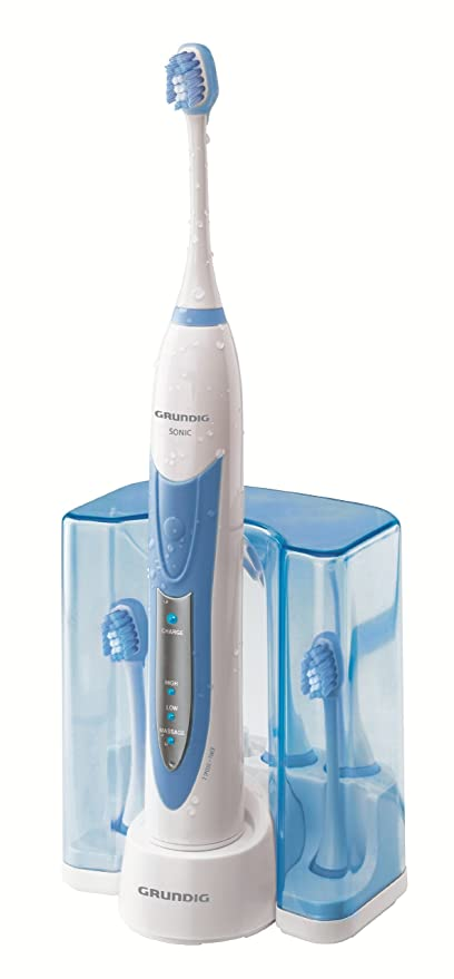 Grundig TB 8030 Clean White Plus - Cepillo de dientes eléctrico por ultrasonidos