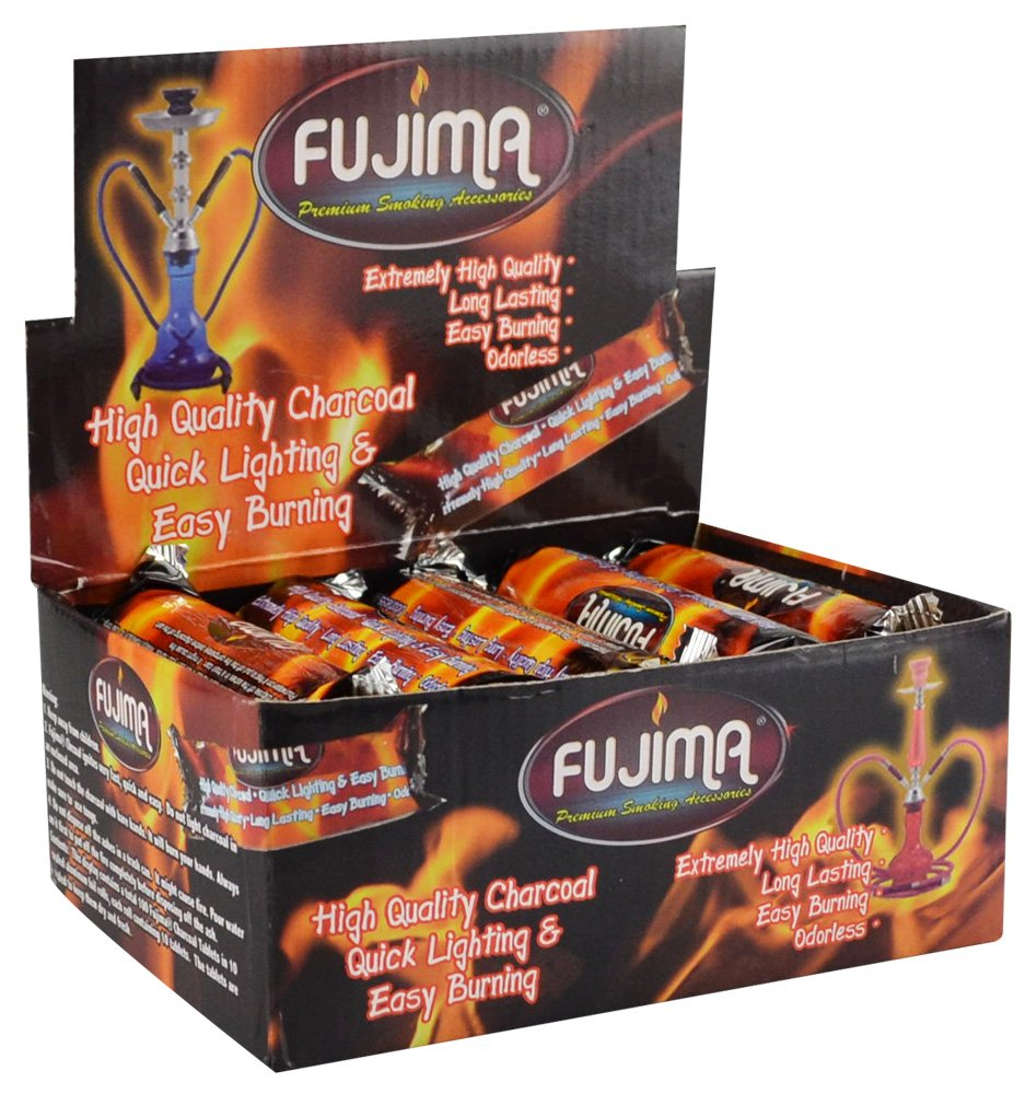 10pc Display Fujima 33mm Instant Light Charcoal East West Trading Co.