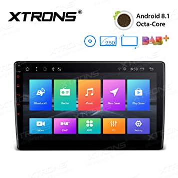 """10.1/"""" Android 8.1 Double 2Din Car Stereo Radio MP5 Player GPS Wifi OBD2 DVR+Cam"""