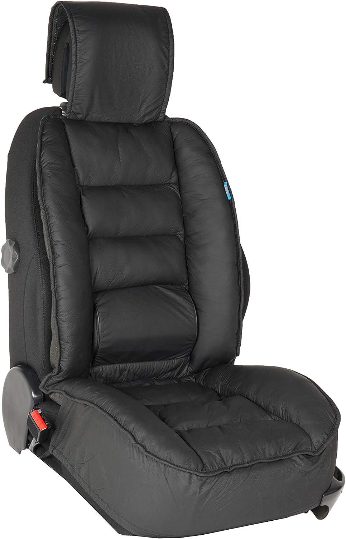 DBS Schwarz rutschfest Gro/ßer Komfort PKW//Auto Universal Kompatibel mit Airbag Autositzauflage