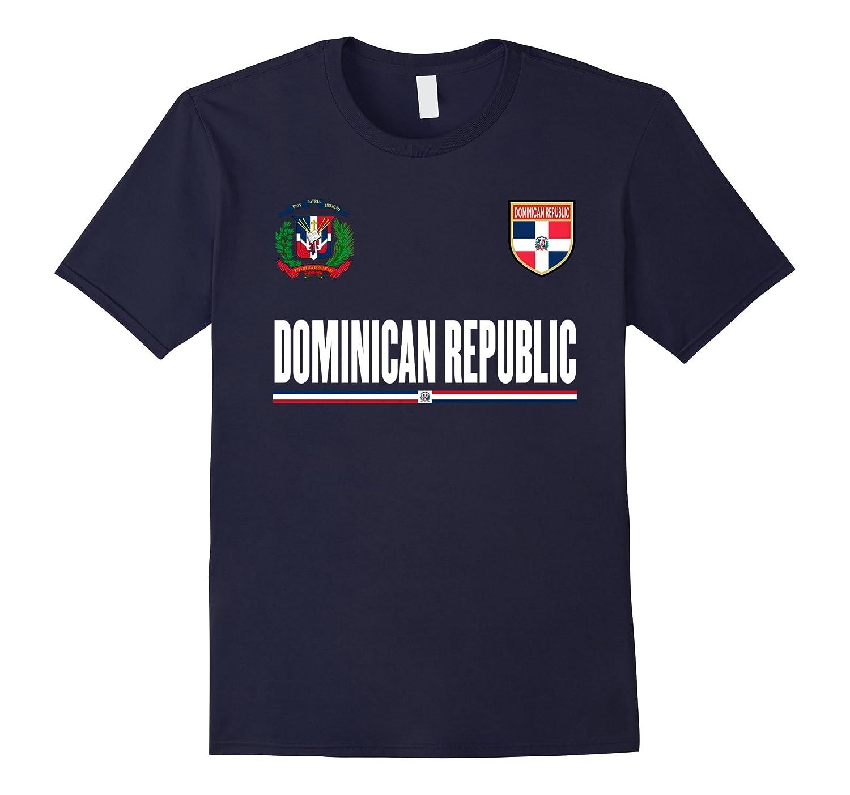 Dominican Republic Cheer Jersey T-Shirt-Art