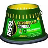 Repel 94116 Citronella Triple Wick Candle, 20-Ounce, Pack of 1