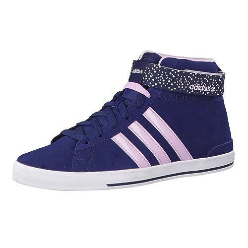 Adidas Daily Twist Mid W - Zapatillas para Mujer, Color Azul Marino/Morado, Talla 40