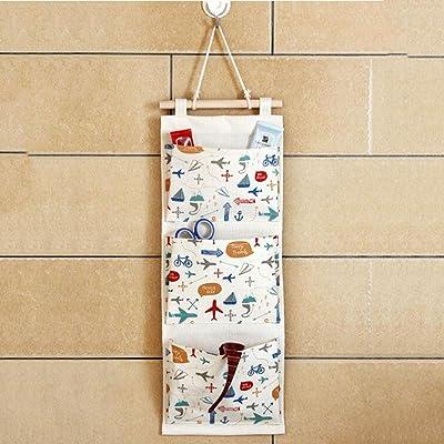 Tissu en coton multi-étages Sacs de rangement, Deux couleurs sont disponibles