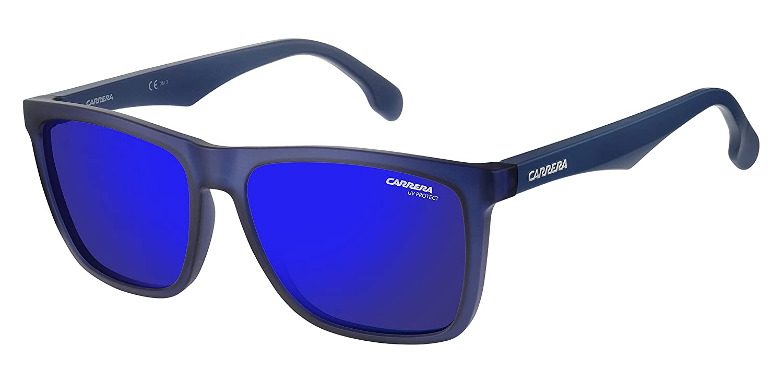 298db53ad6 Carrera Men's Ca5041s Rectangular Sunglasses, Matte Blue Sky Mirror, 56 mm:  Amazon.com.mx: Ropa, Zapatos y Accesorios