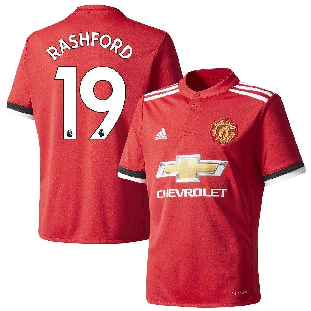 Man Utd Home Trikot 2017 2018 + Rashford 19 - S