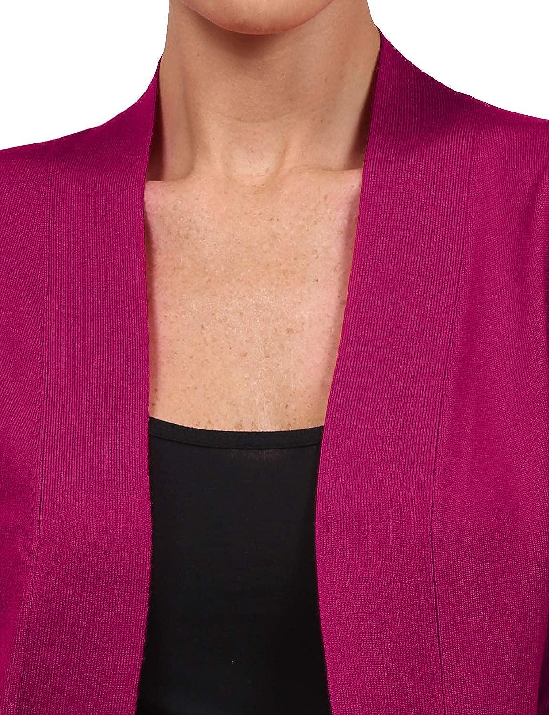 S-3XL NE PEOPLE Womens Lightweight Open Front Knit Crop Cardigan