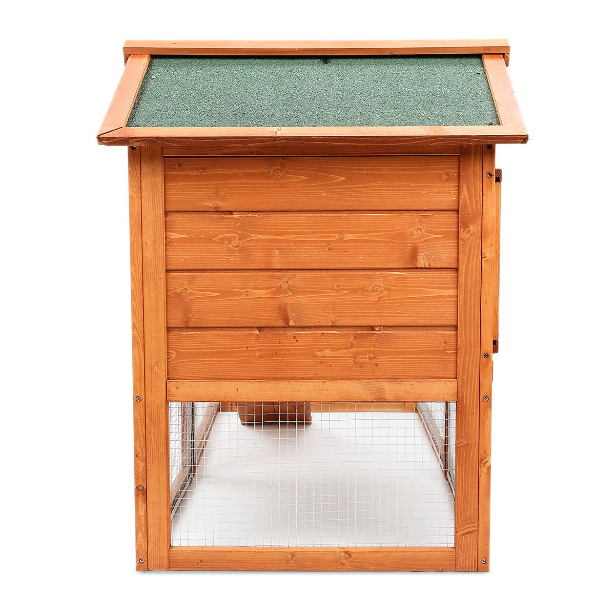 Magshion Wooden Chicken Coop Rabbit Bunny Hutch Pet Cage Wood Small Animal Poultry Cage Run Indoor by Magshion (Image #8)