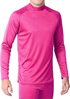 product image for WSI Microtech Form Fit Long Sleeve Shirt, Hot Pink, Large