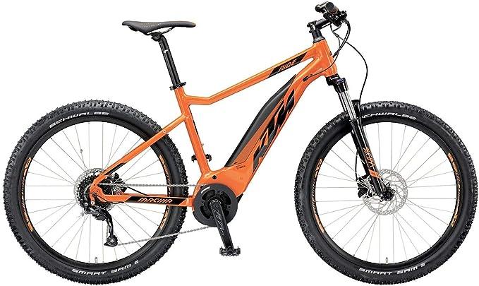 KTM Macina Ride 271 Bosch 2019 - Bicicleta eléctrica, Color Naranja/Negro, tamaño 19