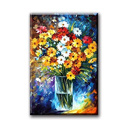 Flowers Painting Daisy Wall Art Decorative Paintings For Living Room  Bedroom Office
