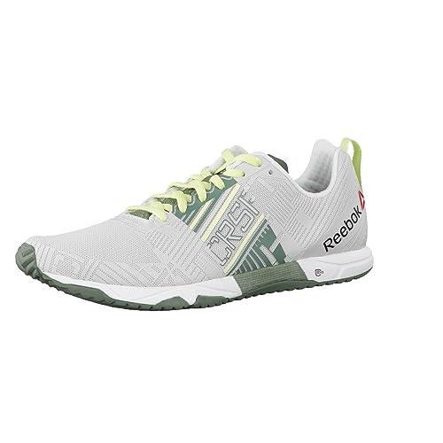 886d6feeef Reebok Crossfit Sprint 2.0, Scarpe da Corsa Donna, Bianco (White/Silvery  Green
