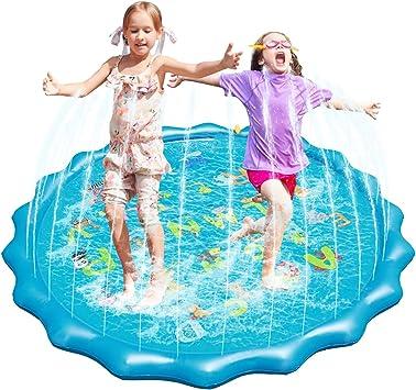 Fostoy Splash Pad, Piscina de Chapoteo al Aire Libre de 68 ...