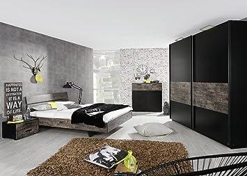 Rauch Sumatra Meubles de chambre avec armoire 2 portes coulissantes ...