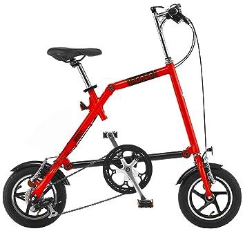 Nanoo FB12 Bicicleta plegable Nanoo Rojo