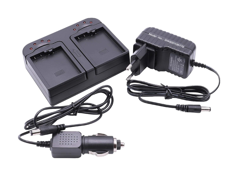 Cargador rápido Dual Incluyendo Adaptador para Coche para baterías ...