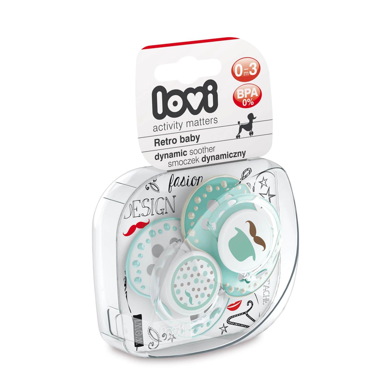 LOVI 2x Chupete Silicona para Bebé de 0-3 meses | Cubierta ...