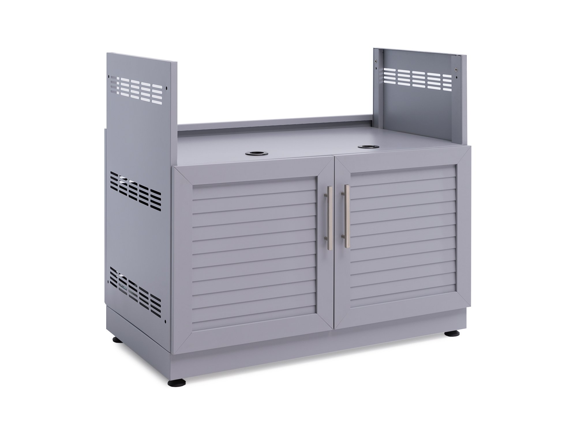 NewAge Products 65409 Outdoor Kitchen 40'' Insert Grill Cabinet in, Coastal Gray