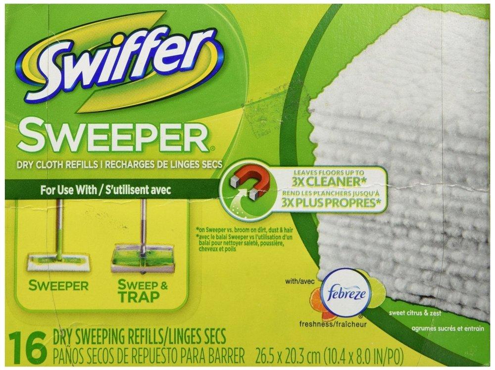 Swiffer 31821 Swiffer Dry Refills 16 Count