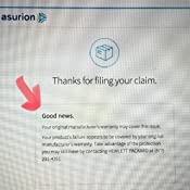 4 Year Asurion Laptop Accident Protection Plan ($900-999 99)