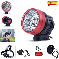 Luces y reflectores de ciclismo | Amazon.es