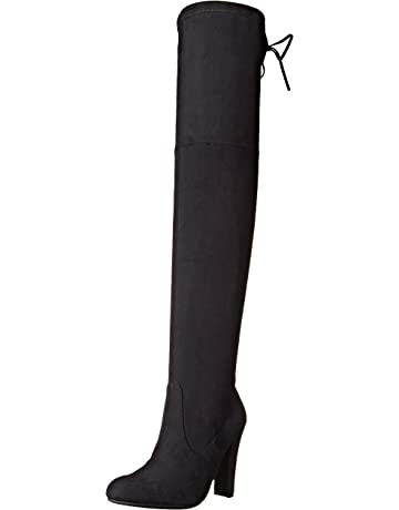 fa65d8131ec Amazon.com   Steve Madden Women's Gorgeous Boot   Over-the-Knee