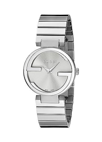 97b35aec795 Gucci Interlocking G YA133503  Amazon.co.uk  Watches