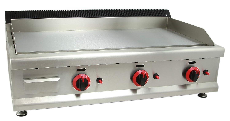 Fry-top industrial a gas 900 hostelería - MBH: Amazon.es: Hogar