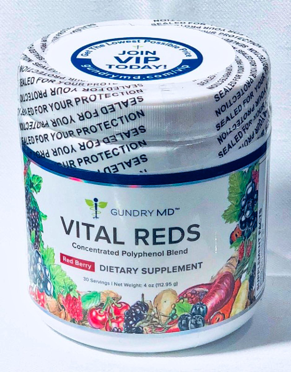 Amazon.com: Gundry MD Vital Reds - Concentrated Polyphenol Blend ...