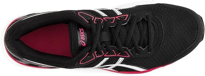 Asics Gel Galaxy 9 Mujer Zapatillas Deportivas para Correr Negro/Rojo/Blanco 43.5 EU: Amazon.es: Zapatos y complementos