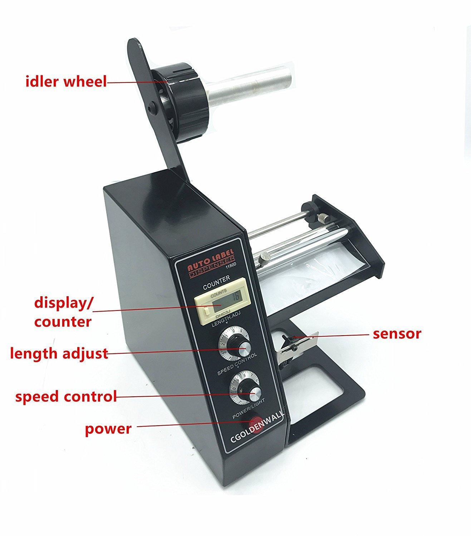 Nuevo automático dispensador de etiquetas (pelacables separar máquina al-1150d: Amazon.es: Bricolaje y herramientas