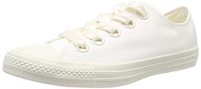 Converse Damen CTAS Coral OX Egret/White Slip on Sneaker, Beige (Egret/Egret/White 281), 40 EU