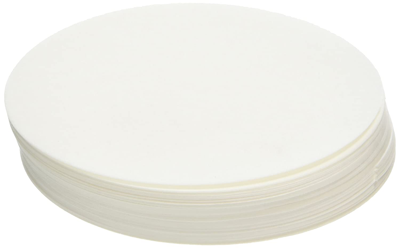 Quantitative Filter Paper Medium Fast Filtering Pack of 100 110 mm Diameter Ashless Camlab 1171149 Grade 12 43