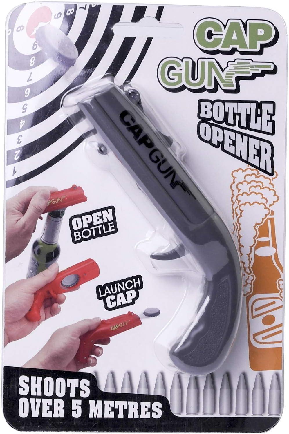 Pistola Abridor de botellas de cerveza, Cap Gun Launcher
