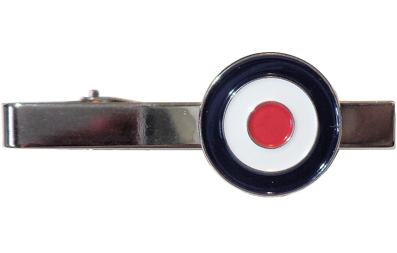 B4B RAF Target Rondell Spitfire Pilot Flying Veteran 2 Weltkrieg Metall Emaille Krawattenklammer Mods