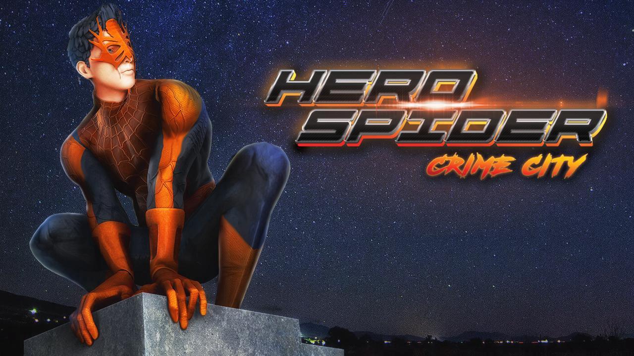 Hero Spider Crime City Champ Supervivencia en modo batalla ...