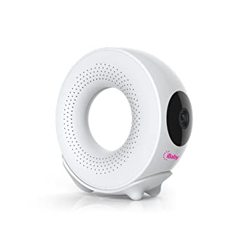 iBaby Monitor M2S Plus, 1080p Full HD Wi-Fi Digital Video Baby Monitor with Temp & Humidity Detector and Sound and Motion Alerts, iPhone and Android