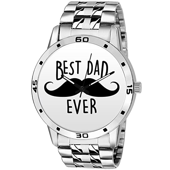 8993aae3b254 Fathers Day Special Gifts - BigOwl Unique Branded Dad Quote Premium Fashion  Watches for Dad -